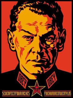 SHEPARD FAIREY - AUTHORITARIAN - GREGG SHIENBAUM FINE ART MIAMI http://www.widewalls.ch/artwork/shepard-fairey/authoritarian/ #Print