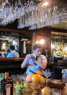 Edwin Cruz at Spare Room for Cointreau Happy Hour