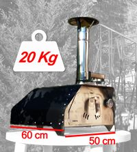 The portable pizza oven Fiesta weighs only 22 Kgs fully equipped and ready to make delicious pizzas or roast a chicken, beef or veggies. It's the most portable pizza oven and versatile we've ever made. Portable Pizza Oven, Pizza Oven Outdoor, Outdoor Cooking, Wood Oven, Wood Fired Oven, Wood Fired Pizza, Small Pizza, Four A Pizza, Kitchen Oven