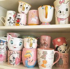 Disney Mugs! Disney Mugs! Disney Mugs! Disney Mugs! Disney Coffee Mugs, Disney Mugs, Cute Coffee Mugs, Drink Coffee, Tea Mugs, Coffee Cups, Nightmare Before Christmas Characters, Sally Nightmare Before Christmas, Disney Tassen