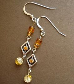 Contemporary Style Earrings - The Beading Gems Journal