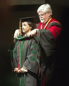 Special Photo At age 22, Serennah Harding is one of the youngest doctors in the United States, according to officials with Georgia Campus o Philadelphia College of Osteopathic Medicine. In this photo, she is being hooded by William Craver III, dean and chief academic officer osteopathic medical program.