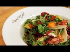 Thanksgiving Salad with Bacon Dressing Recipe - Laura Vitale - Laura in the Kitchen Episode 236
