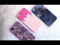 DIY cover smartphone - Creare le cover per cellulare da soli (con smalti) - YouTube