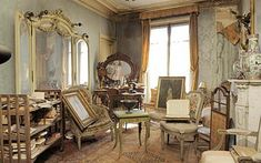 A Parisian Apartment, Locked Away for 70 Years  Read more: http://www.cracked.com/article_20351_5-creepy-abandoned-rooms-found-hiding-in-plain-sight.html#ixzz2R2HimFbL