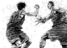 El final que nunca vimos en el anime de Slam Dunk (Mouse) - Versión para impresión Dragon Ball Gt, Manga Art, Manga Anime, Slam Dunk Manga, Inoue Takehiko, Sports Art, Slammed, Art Inspo, Character Design