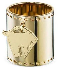 Hermès Tête de Cheval Scarf Ring at Lilypondservices.com