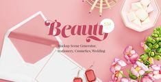 Beauty Mockup Screen Generator - Beautiful mock up screens for cosmetics and weddings UIs . (Web and Design Tools) Discover 2…