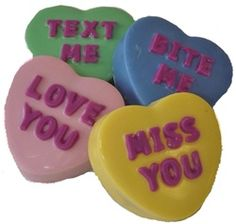 Seen on the Today Show: Chocolate Covered Oreo Cookies - Conversation Hearts -
