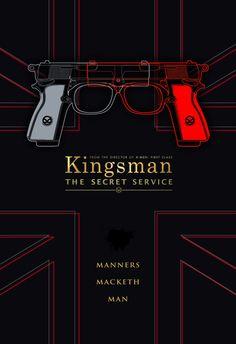 Design a Limited Edition Movie Poster for Kingsman: The Secret Service