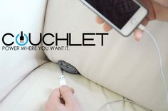 Give Your Sofa Some Power With The Couchlet