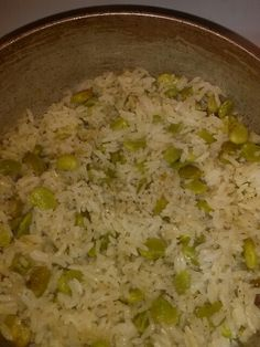 Haitian white rice and lima beans