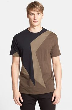Neil Barrett 'Macro Pop Art' Slub Cotton Jersey T-Shirt available at #Nordstrom