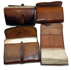 Turn of the century fly wallets.