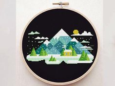 More geometric cross stitch patterns find here https://www.etsy.com/shop/PatternArtCollection?ref=seller-platform-mcnav&section_id=20399999 ----------------- Use daily coupons to buy more patterns that you like from my shop: Buy 2 get 1 free - add to cart 3 patterns and use code