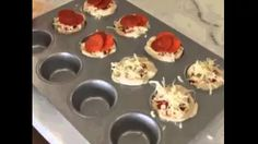 pizza muffins - YouTube