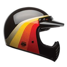 The Bell Moto 3 is a modern and updated version of the classic off-road helmet from Bell. The Bell Moto 3 still remains one of the most sought after vintage helmets today, old seventies versions are still going for big bucks on auction websites so Bell thought it was about time they re-released the Moto 3!