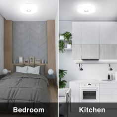 18W 1600lm 5000K Daylight White Flush Mount Ceiling Light IP65 Waterproof – onforuleds Round Led Ceiling Light, Ceiling Mounted Light, White Ceiling, Flush Ceiling Lights, Flush Mount Ceiling, Ceiling Lamp, Light Shield, Indoor Swimming Pools, White Light