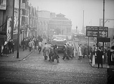 Woolwich Old Ferry approach in around 1950.