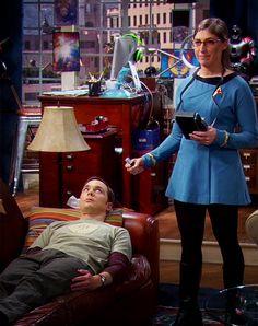 The Big Bang Theory ~ Sheldon and Amy