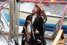 Pirate at Hanse Sail Rostock