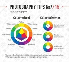 Photography Tips - Color Chart