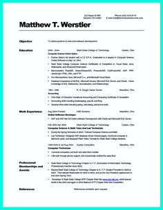 proper resume job format examples data sample resume new example ... - Proper Resume Format Examples