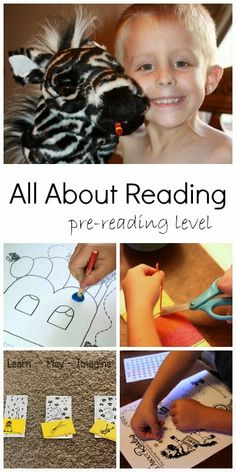 Hands on, multi-sensory preschool curriculum to build pre-reading skills in a playful way and to help develop a love for learning.
