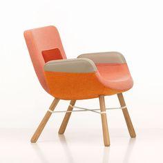 Vitra launch new Hella Jongerius lounge chair in Milan Milaan 2014