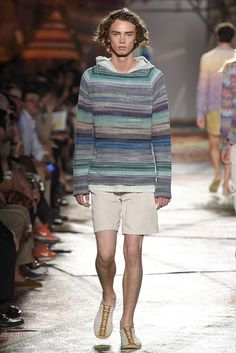 Missoni Men's RTW Spring 2015 - Slideshow