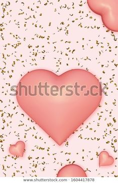 Vertical Background Hearts Golden Confetti Pink Stock Illustration 1604417878 Stock Portfolio, Confetti, Royalty Free Stock Photos, Hearts, Illustration, Pink, Pictures, Image, Photos