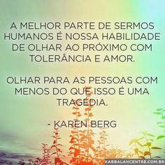 Tolerância e Amor