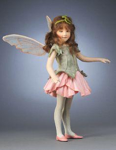 R. John Wright Presents: Sweet Pea Fairy from 'A Flower Fairy Alphabet' Collection - R. John Wright, Bennington, VT