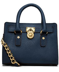 MICHAEL Michael Kors Hamilton Mini Messenger Bag - Handbags & Accessories - Macy's