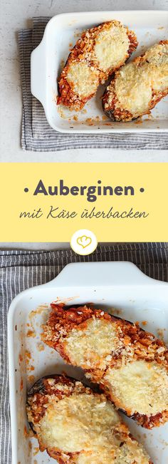 Aubergine und fad? Nix da - unter einer goldenen Käsedecke gebacken ist das Gemüse einfach spektakulär gut. Probier's doch mal aus.