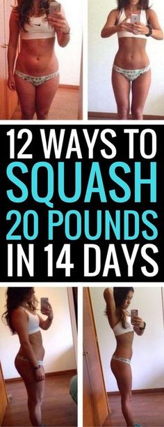 12 best ways to lose 20 pounds in just 2 short weeks.