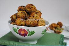 spicy vegetarian balls