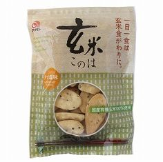 Domestically produced organic brown rice was used 100%, and whole whole grain was baked up to rice crackers easy to eat to make use of the nutrients of unpolished rice as it is, finished in a slightly salty with the natural sea salt of Izu Oshima.