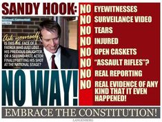 FBI Report: No Deaths at Sandy Hook | Humans Are Free