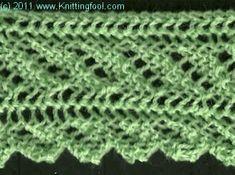 Candy Stripe - Knittingfool Stitch Detail