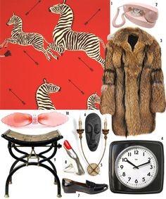 Royal Tenenbaums...I covet that wallpaper