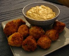 Buffalo Chicken Cheese Balls (not the healthiest, but a crowd pleaser)