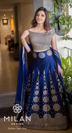 Milan offers a wide variety of Designer, Bridal & Wedding Sarees Online Kochi, Kerala, India. Indian Wedding Gowns, Wedding Sarees Online, Indian Bridal Outfits, Indian Bridal Lehenga, Half Saree Designs, Fancy Blouse Designs, Lehenga Designs, Choli Designs, Designer Party Wear Dresses