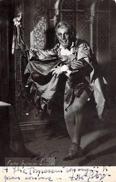 Gobbi, Tito - Signed Photo in Rigoletto
