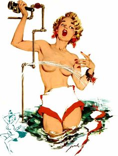 peter darro pin up girl Pin Up Posters, Pin Up Photography, Calendar Girls, Photo Pin, Retro Futuristic, Pin Up Art, Pin Up Style, Id Holder, Erotic Art