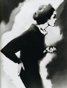 Lillian Bassman Woolen Hat Anne Saint-Marie, late 1950s From Lillian Bassman: Women