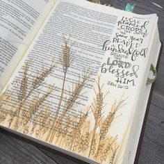 Bible Journaling by christy fae [creates] Faith Bible, My Bible, Bible Art, Bible Scriptures, Bible Quotes, Art Journaling, Bible Study Journal, Scripture Study, Scripture Journal