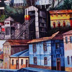 Street art - Valparaiso - Chile