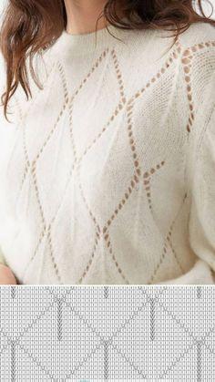 Knitting, Sweaters, Fashion, Tricot, Tejidos, Tutorials, Moda, Fashion Styles, Breien