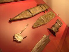 Roman Military Equipment: Weapons - Gladius, Spatha, Pugio, Pilum Scabbard decoration for the Gladius Hispanensis, Leiden Museum, NL